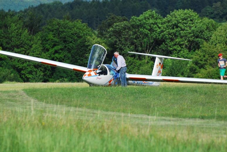 Nach der Landung