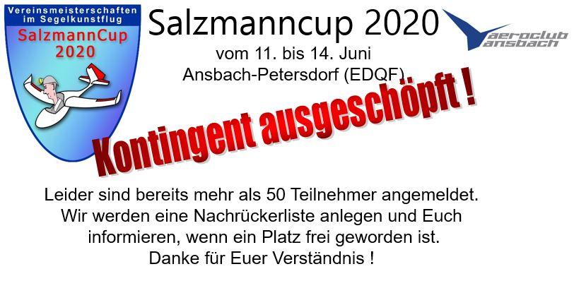 Kontingent voll SC 2020