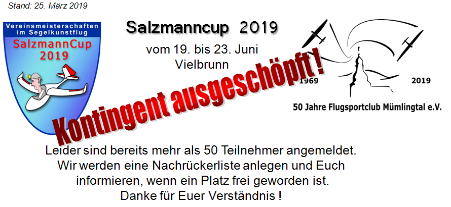 SC 2019 - Kontingent VOLL